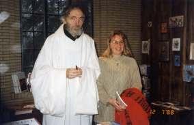 Fr Theophane & Debbie-Advanced-Snowmass-Nov 1995