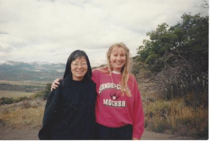 Madeline & Debbie - Snowmass 1994 - 1st Intensive