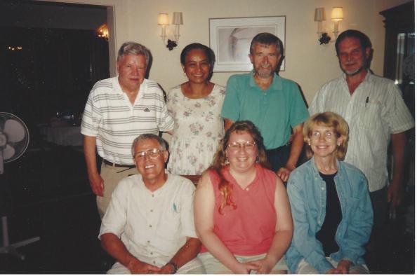 Newman Center CP Group-August 2000